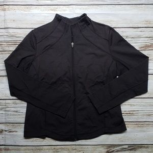 Lucy XL black athletic jacket
